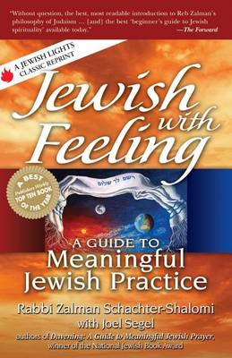 Jewish with Feeling: A Guide to Meaningful Jewish Practice (Hardback)