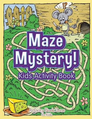 Maze Mystery! Kids Activity Book (Paperback)