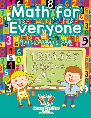 Math for Everyone Number Coloring Book (Paperback)