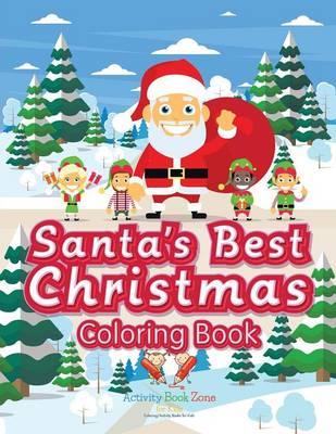 Santa's Best Christmas Coloring Book (Paperback)