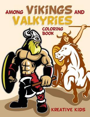 Among Vikings and Valkyries Coloring Book (Paperback)