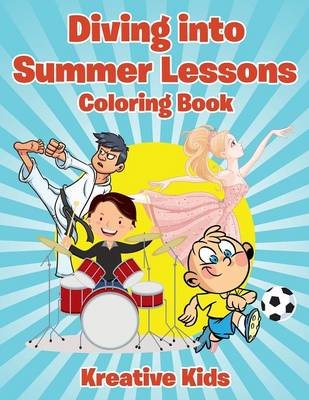 Diving Into Summer Lessons Coloring Book (Paperback)