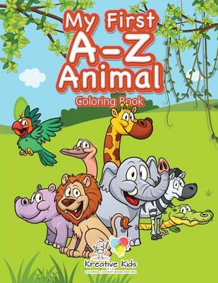 My First A-Z Animal Coloring Book (Paperback)
