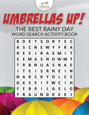 Umbrellas Up! the Best Rainy Day Word Search Activity Book (Paperback)