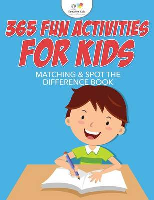 365 Fun Activities for Kids Matching & Spot the Difference Book (Paperback)