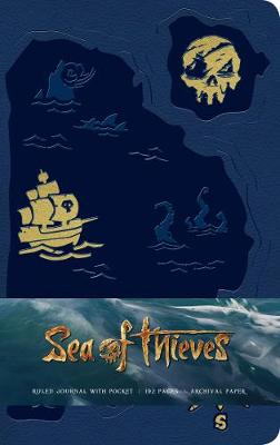 Sea of Thieves Hardcover Ruled Journal (Hardback)
