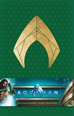 Aquaman Hardcover Ruled Journal (Hardback)