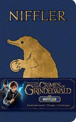 Fantastic Beasts: The Crimes of Grindelwald: Niffler Ruled Pocket Journal (Hardback)