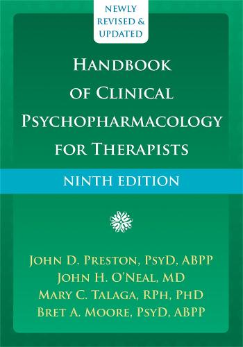 Handbook of Clinical Psychopharmacology for Therapists (Hardback)