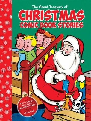 The Great Treasury Of Christmas Comic Book Stories (Paperback)
