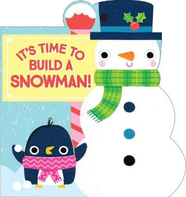 It's Time to Build a Snowman! - Christmas Gift Tags (Board book)