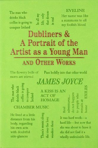 Dubliners & A Portrait of the Artist as a Young Man and Other Works - Word Cloud Classics (Paperback)