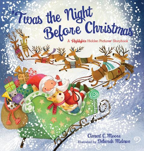 'Twas the Night Before Christmas: A Highlights Hidden Pictures (R) Storybook (Hardback)