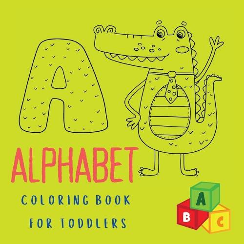Alphabet Coloring Book for Toddlers (Paperback)