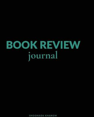 Book Review Journal (Paperback)