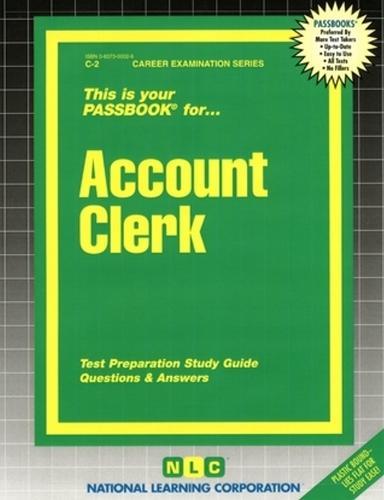 Account Clerk (Paperback)