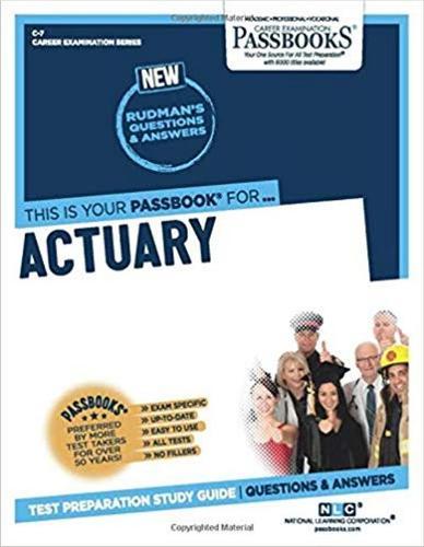 Actuary (Paperback)