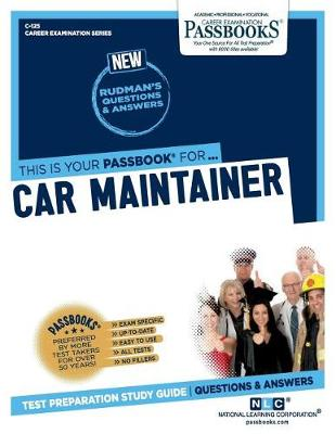 Car Maintainer (Paperback)