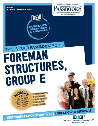 Foreman (Structures-Group E) (Plumbing) (Paperback)