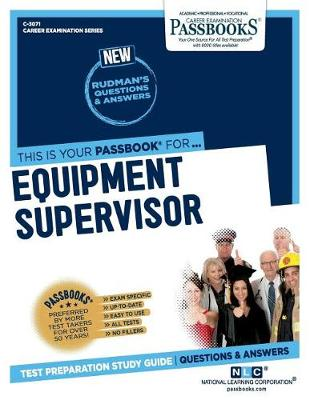 Equipment Supervisor (Paperback)