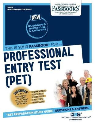 Professional Entry Test (PET) (Paperback)