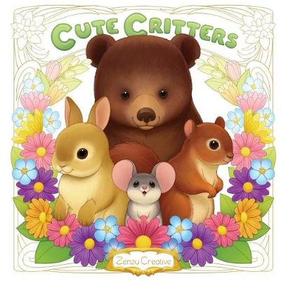 Cute Critters: Coloring Book (Paperback)