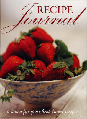 Recipe Journal (Hardback)