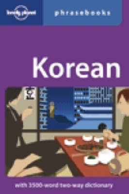 Korean - Lonely Planet Phrasebook (Paperback)