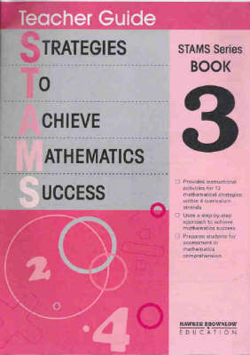 Strategies to Achieve Mathematic Success: Teacher's Guide Bk.3 (Paperback)