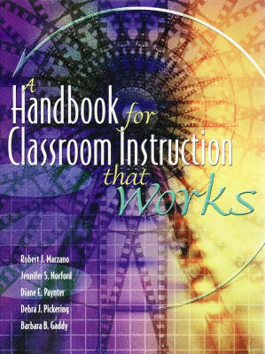 A Handbook for Classroom Instruction That Works (Hardback)