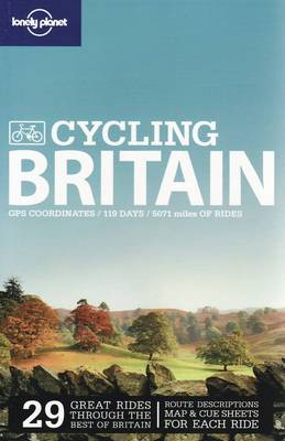 Lonely Planet Cycling Britain - Travel Guide (Paperback)