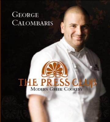 The Press Club: Modern Greek Cookery (Hardback)