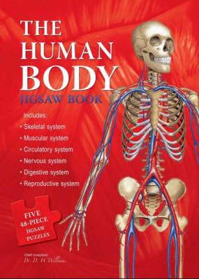 Human Body Jigsaw Book (Board book)