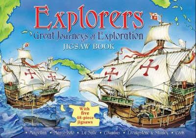 Explorers: Great Journeys of Exploration Jigsaw Book (Hardback)