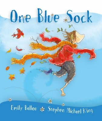 One Blue Sock (Paperback)