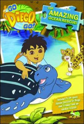 Go Diego Go Jigsaw Book: The Amazing Ocean Rescue! (Hardback)
