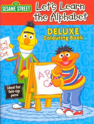 Sesame Street Deluxe Colouring Book (Paperback)