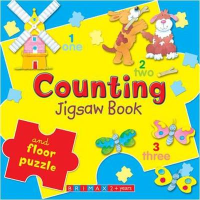 Counting Jigsaw Book (Board book)