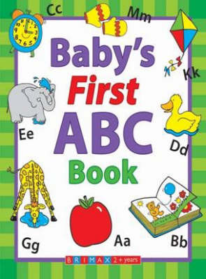 Baby's First ABC Book (Board book)