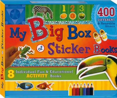 My Big Box of Sticker Books (Paperback)