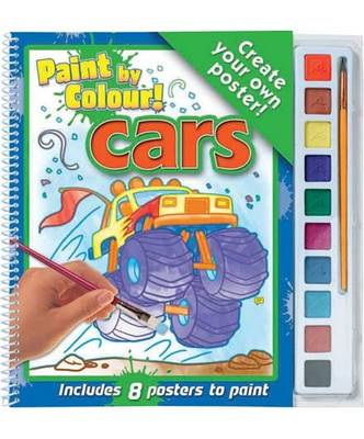 Cars - Paint by Colour! (Spiral bound)