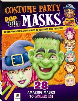Costume Party Pop Up Masks (Paperback)
