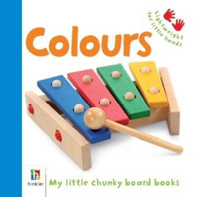 Colours - Baby's First Cloth Book (Board book)