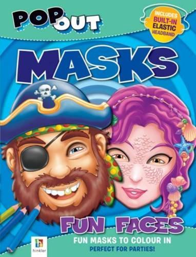Pop Out Masks Fun Faces - Pop Out Masks (Paperback)