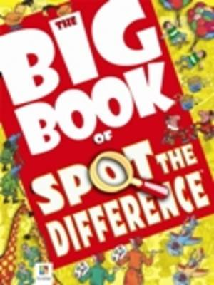 Big Book of Spot the Difference - Big Book of Series (Paperback)