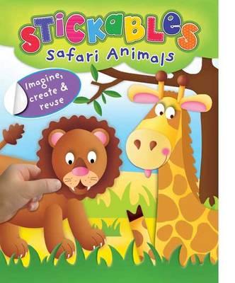 Safari Animals - Stickables (Paperback)