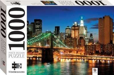 New York Skyline 1000 Piece Jigsaw - Mindbogglers Series 1