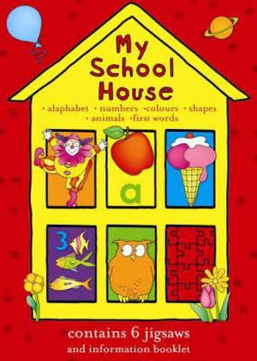 My School House Jigsaw Book (Hardback)