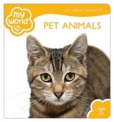 Pet Animals - My World (Hardback)