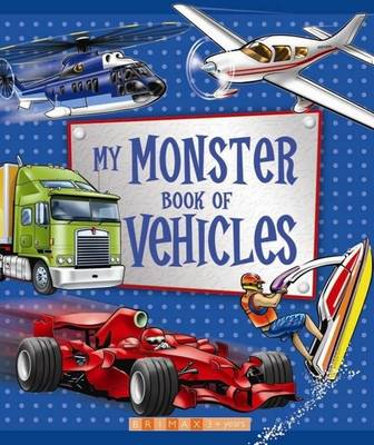 My Monster Book of Vehicles (Hardback)